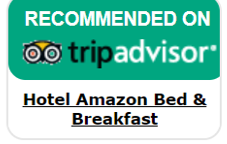 Tripadvisor logo hotel Amazon Bed and Breakfast in Leticia Amazonas Colombia